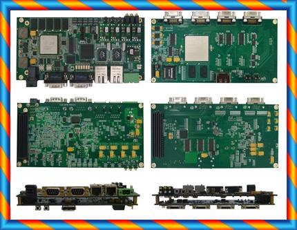 8 코어 DSP + FPGA 비전 카메라 Link_Kintex-7 + FMC6678 개발 보드 TMS320C6678-[42401562371]