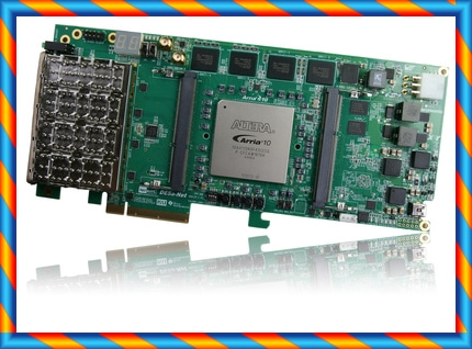 Altera DE5A-NET Arria 10 FPGA 개발 보드 OPENCL 데이터 가속 고성능-[592067370552]