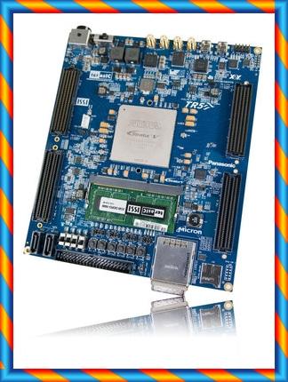 알테라 FPGA 개발 보드 TR5 Stratix V IC 검증 FMC 확장 SATA PCIE-[592238987108]