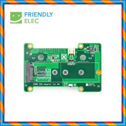 친숙한 NanoPi M4 전용 PCIe NVMe SSD 개발 확장 보드, PCIex2 고속 전송-[596873655609]