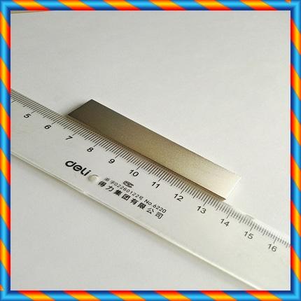 고온 사마륨 코발트 자석 75x16x3mm 니켈 도금-[586395080029]