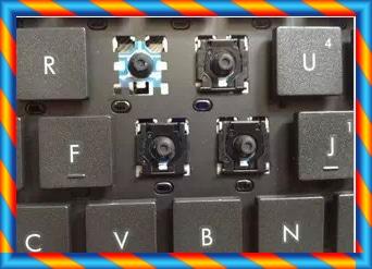 [중고] HP 4310S 4311S 4315S 4411S 노트북 키보드 캡 브래킷 버튼 버클 -[35387836352]