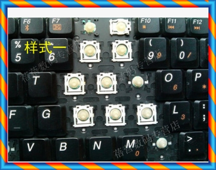 [중고] Lenovo V550 G230 C430 G420 C420 C410 C400 노트북 키보드 캡 브래킷 버튼 -[534094310116]