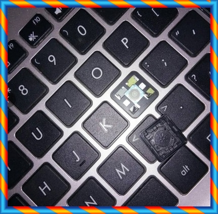 [중고] ASUS A52 A550 A501LB A72 A73 B53S 노트북 키보드 캡 브라켓 버튼 캡 -[534744481180]