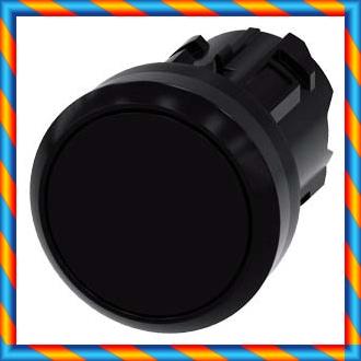 신품 오리지널 SIEMENS / 지멘스 순간 흑색 평면 버튼 3SU1000-0AB10-0AA0-[553261855459]