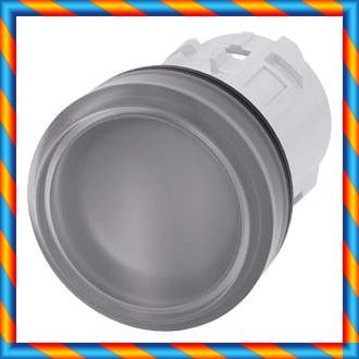 부드러운 렌즈 무색 인디케이터 램프 3SU1001-6AA70-0AA0와 신품 오리지널 SIEMENS / Siemens-[553473479536]