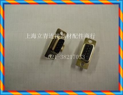RS232 DB9PF DB9 홀 9 핀 암 직렬 포트 헤드 검은 색 플라스틱 코어 와이어 본더-[13653529808]