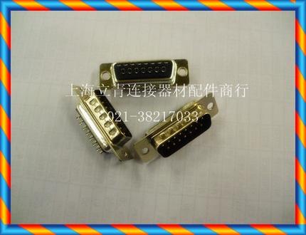 DB15PM DB15 코어 핀 2 열 15 코어 수 직렬 포트 헤드 와이어 본딩 된 검은 색 플라스틱 코어 커넥터-[13653769041]